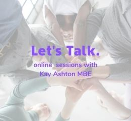 Lets Talk online sessions with Kay